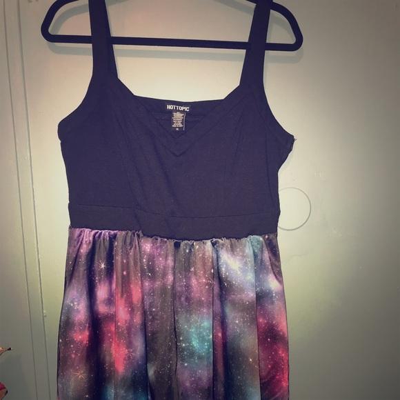 Plus Size Galaxy Dress